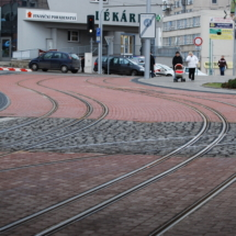 Rail noise absorbers, Liberec