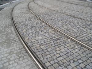 Rail noise absorbers, Olomouc 2009