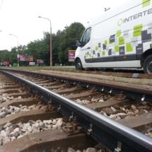 Rail noise absorbers, Bratislava 2016